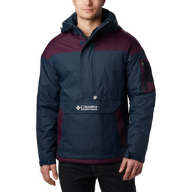 Columbia Challenger Pullover Hombre, night shadow/black cherry